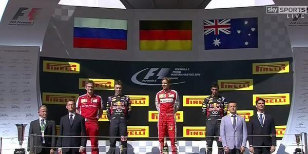 Российский гонщик впервые в истории Формулы-1 финишировал вторым