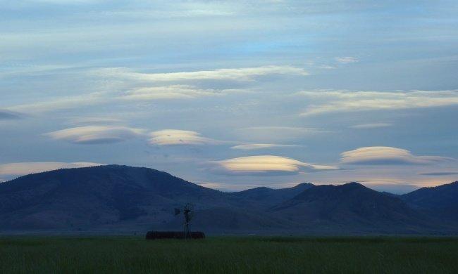 Лентикулярные облака наука, пророда, сверхъестественные явления