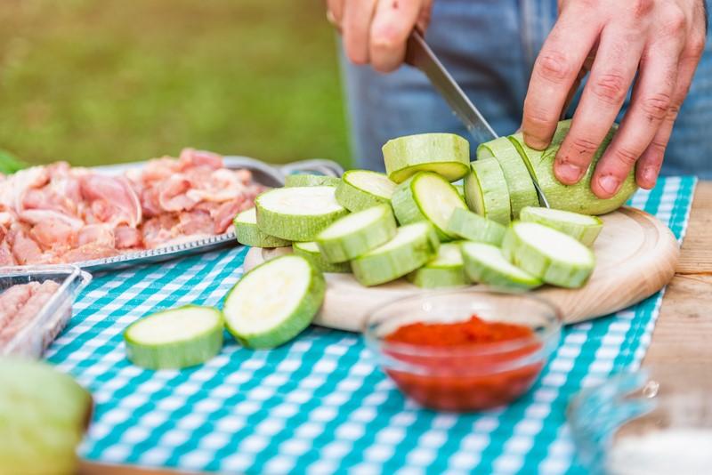 кабачки со сметаной в духовке калорийность