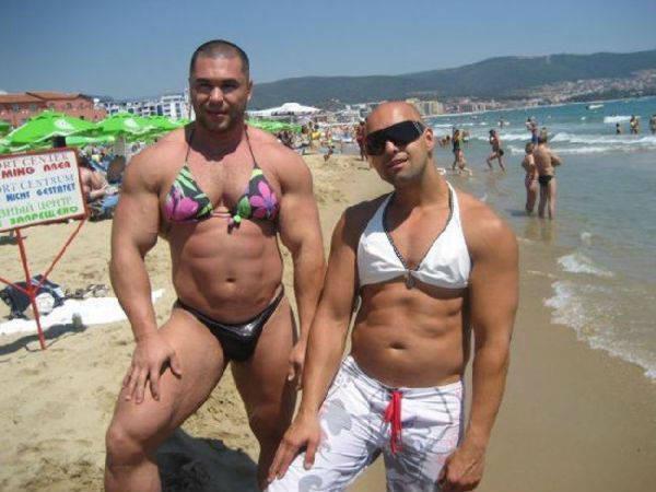 16. курьез, пляж