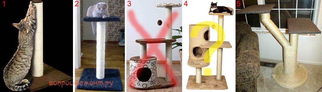 Как сделать домик когтеточку для кошки пошагово