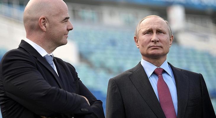 Сюрприз Путина на ЧМ-2018 вы…