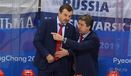 Харийс Витолиньш: С Олегом Знарком общаемся постоянно, с Ильем Воробьевым - нет