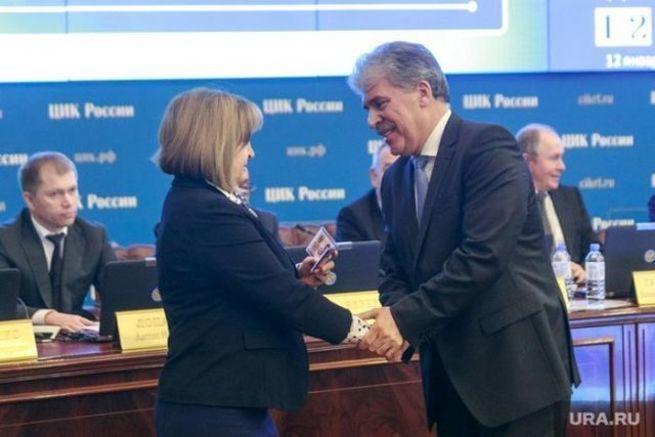 Грудинину, нужен скандал, а не президентство... Майдан нужен, развал России