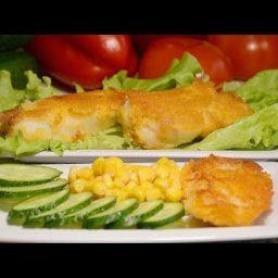 Рыба в необычном кляре - простое блюдо, покоряющее сердца!