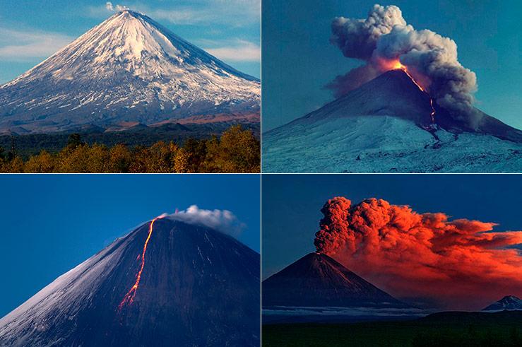 Стратовулкан может в любой момент извергнуть клубы дыма, а то и потоки лавы, и летящие камни