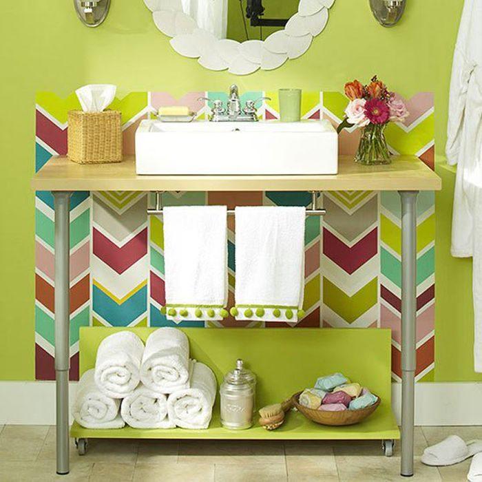 Яркие идеи для преображения ванной
