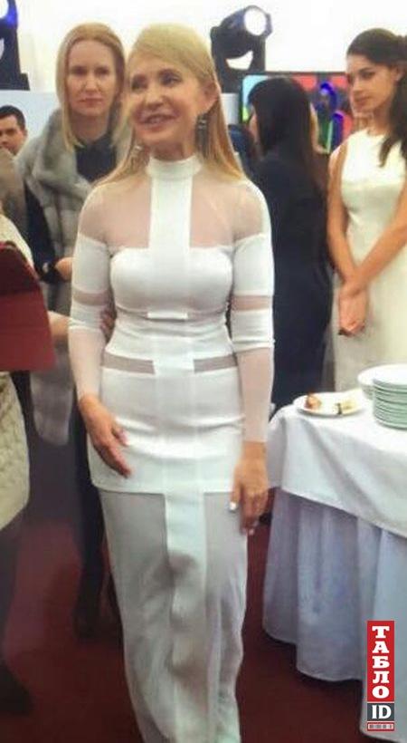 """""""Не приболели ли,а то вся в бинтах"""" Соцсети обсуждают праздничное платье Тимошенко"""