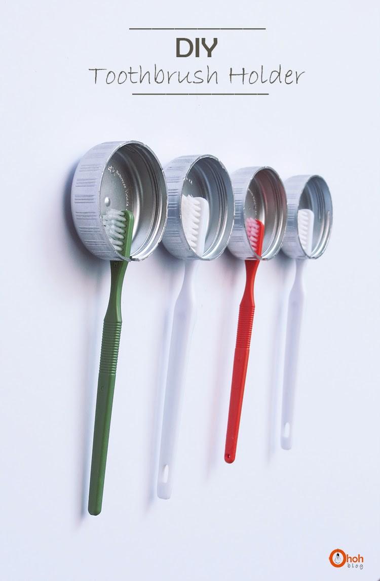 Подставка для зубных щёток своими руками