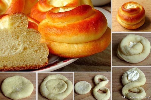 Как сделать вкусное сдобное тесто для плюшек и булочек - Шина Плюс