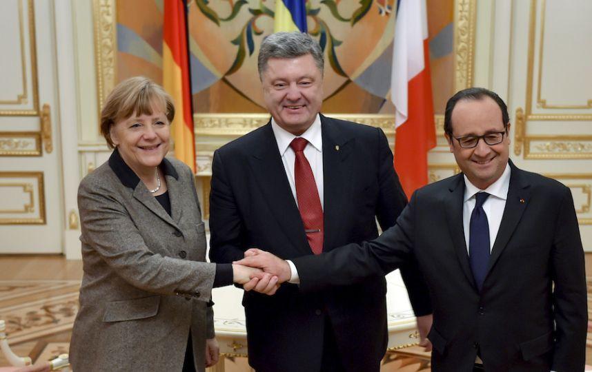После встречи с Меркель и Ол…