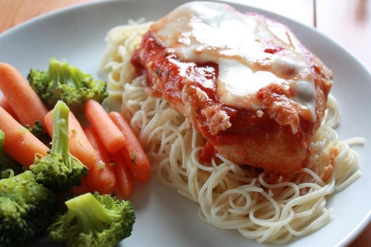 Курица Парминьяна Блюда итальянской кухни блюда Италии