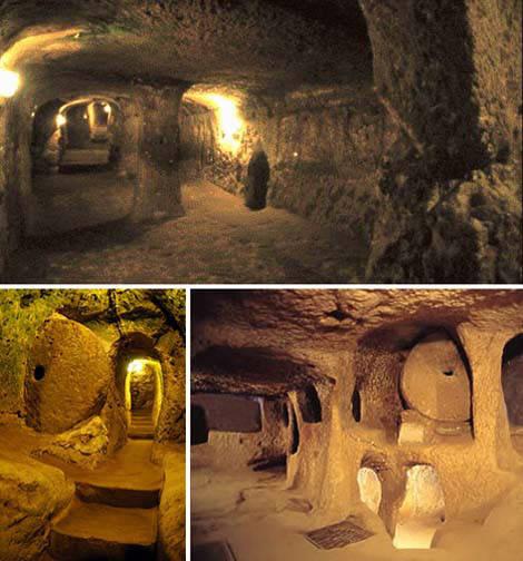 8. Туннели Каменного века необъяснимое, очевидное-невероятное, удивительные места мира