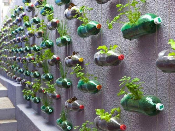 Мини-огород на балконе. Часть 2: Как обустроить и оформить - примеры в картинках.
