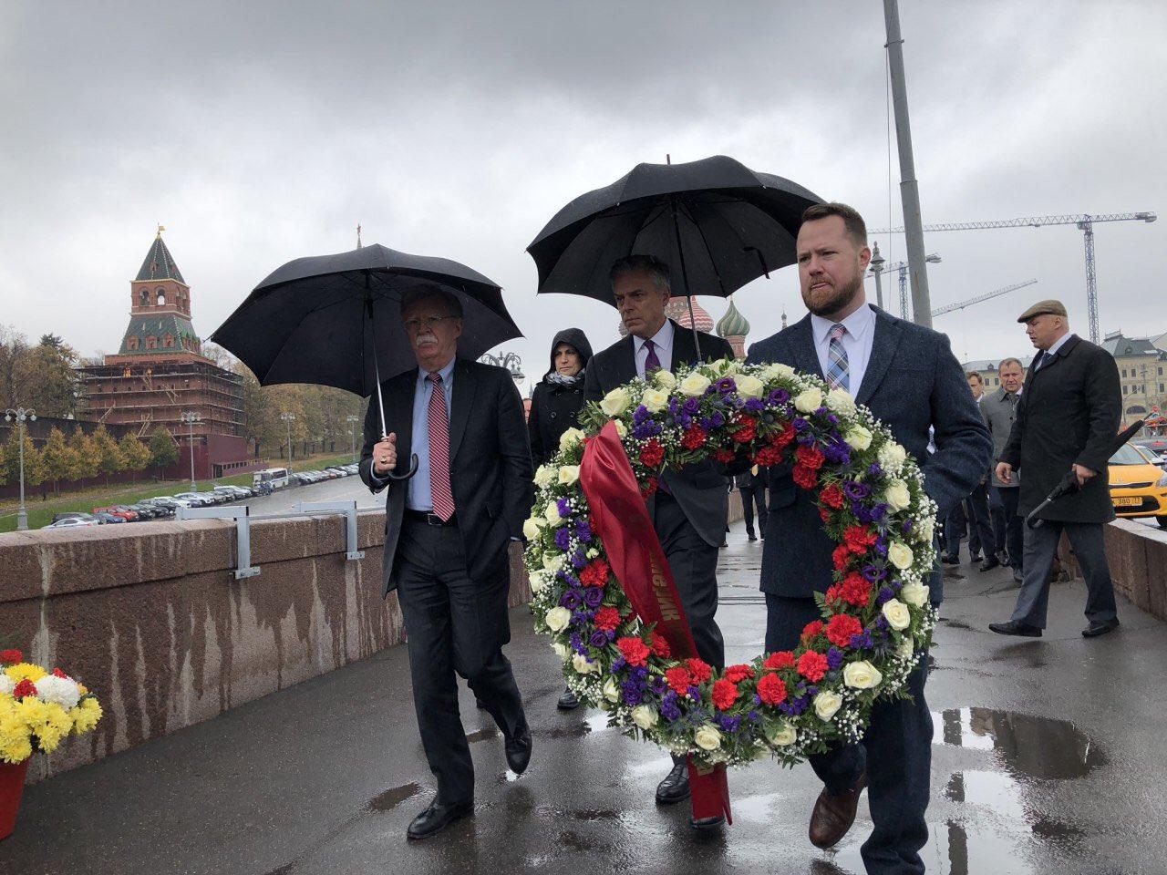 Венок для Немцова