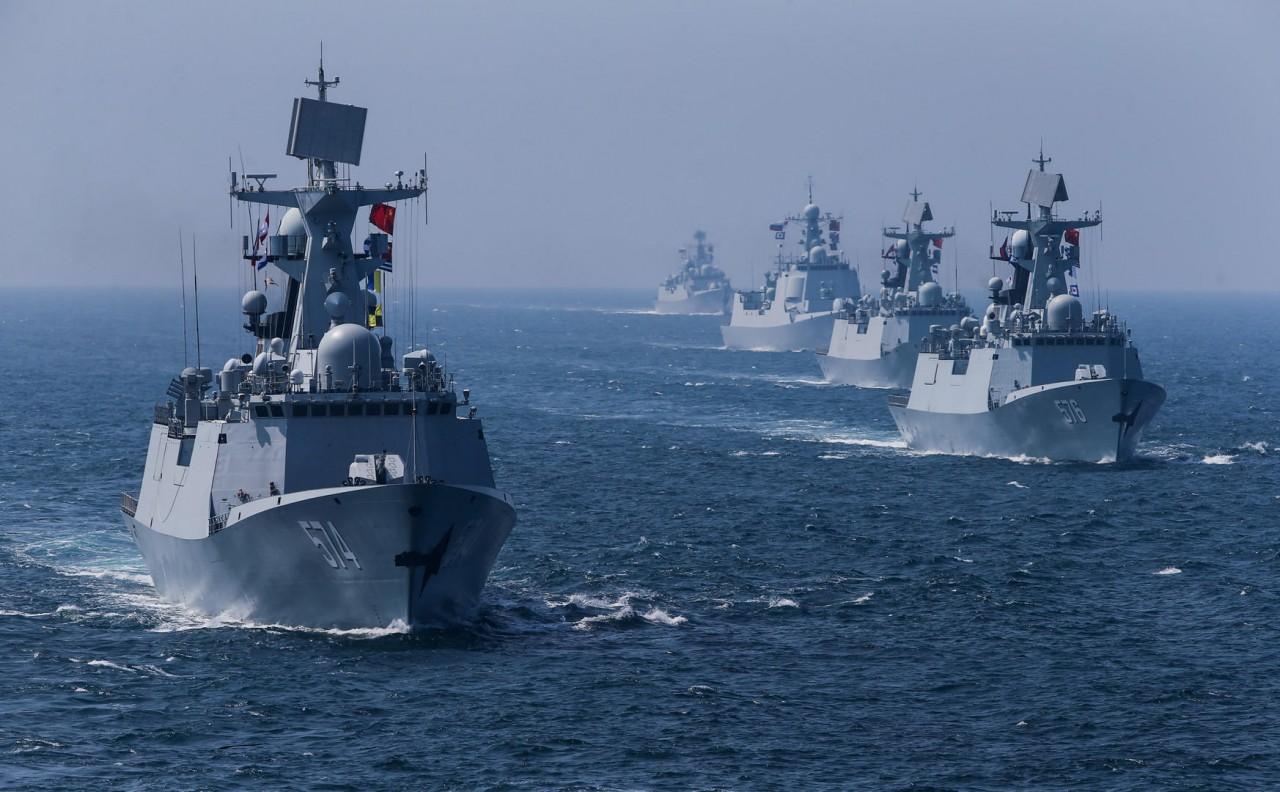 Российско-китайские учения: западная паранойя прогрессирует
