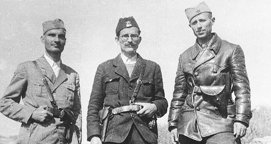 Герой Балкан, застреленный, как дичь