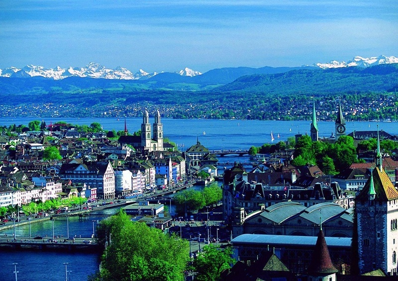 Вот как решили проблему мусора в Швейцарии мусор, швейцария
