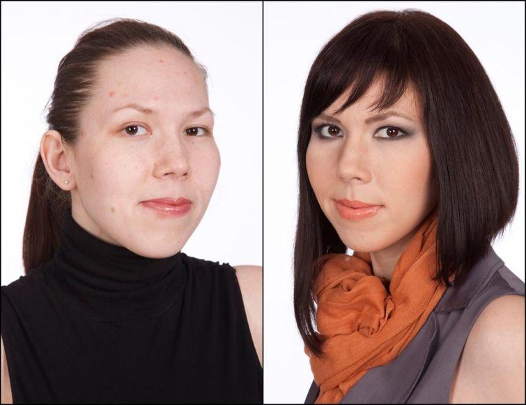 мировая стилист по перевоплощению косметикой