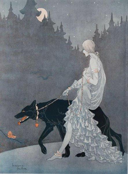 Загадочная художница Марджори Миллер. Может она сама из тех фей, что изображала?