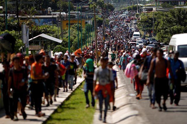 Это Гондурас, Дональд. Президента США погубят 7000 мигрантов?