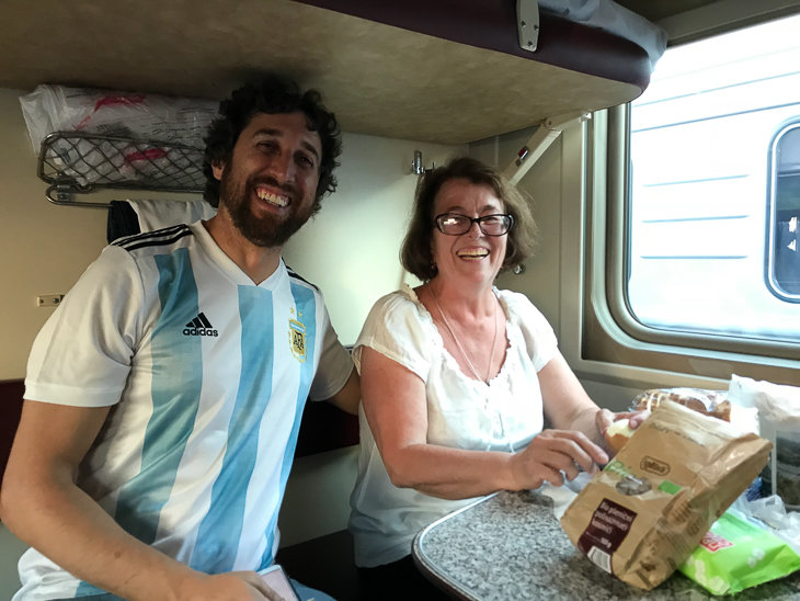 В Аргентине плацкарта нет... и очень жаль!