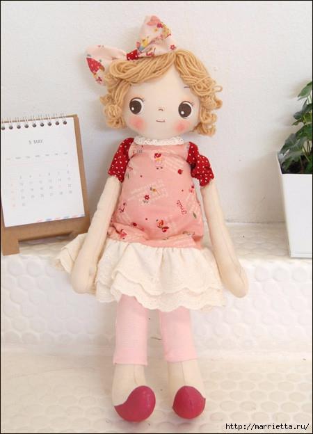 Как сшить куклу. Выкройка и фото мастер-класс (31) (450x624, 159Kb)