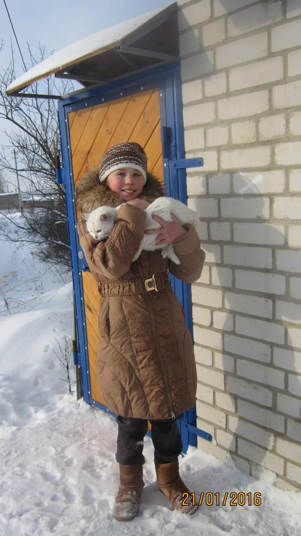 Родители четвероклассницы почти уверены, что их дочь в будущем будет ветеринаром. воронеж, животные, помощь, приют