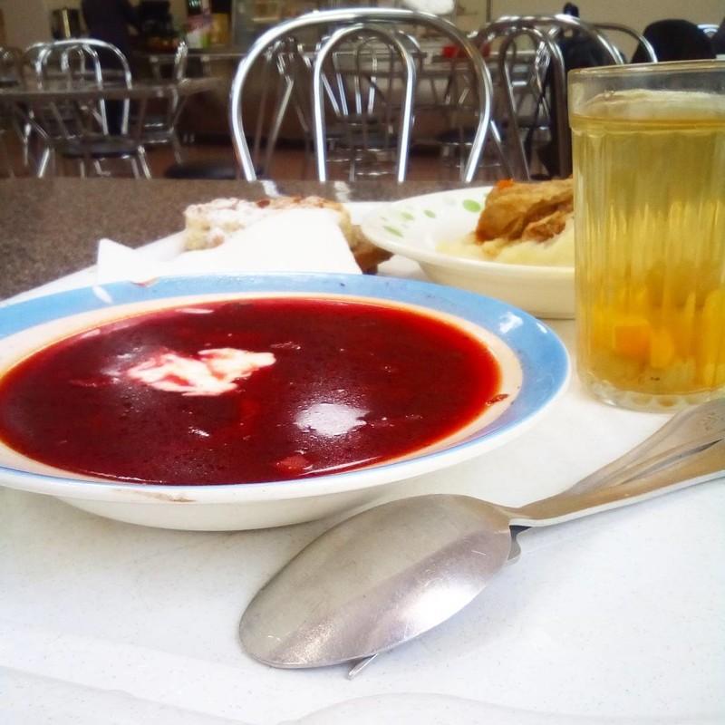 А какое блюдо из столовского ассортимента вам нравится больше всего? еда, прикол, столовая, юмор