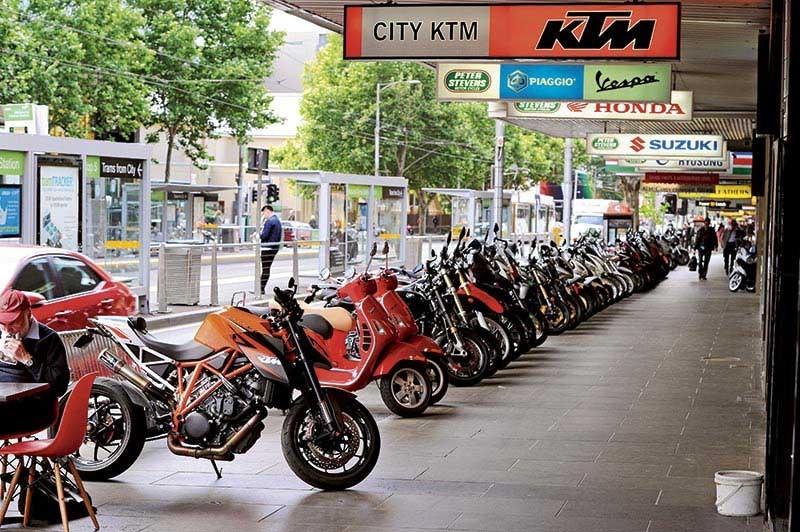 Мельбурн: план по обеспечению безопаности и комфорта мотоциклистов