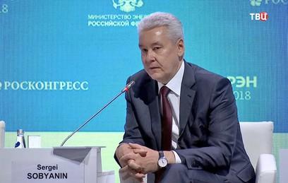 Собянин: освещенность Москвы увеличилась на 50%