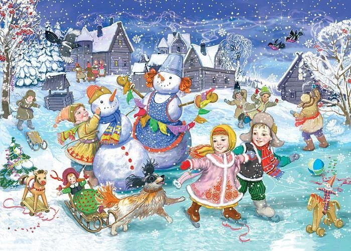 Детские новогодние стихи