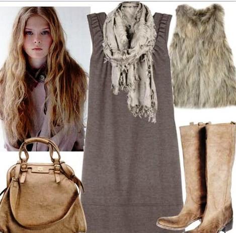 Модная необходимость: Трикотажные платья