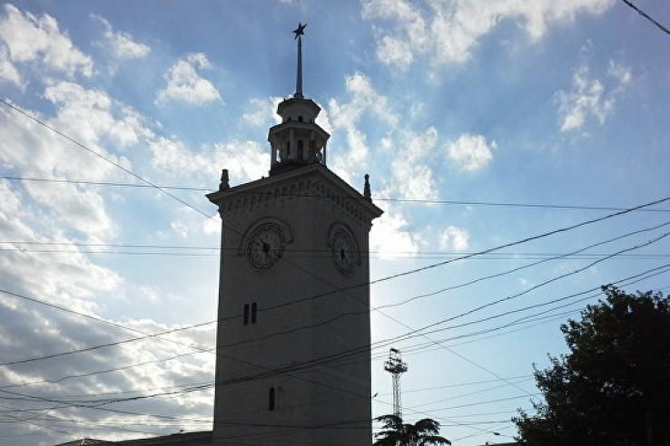 Время остановилось на башне …