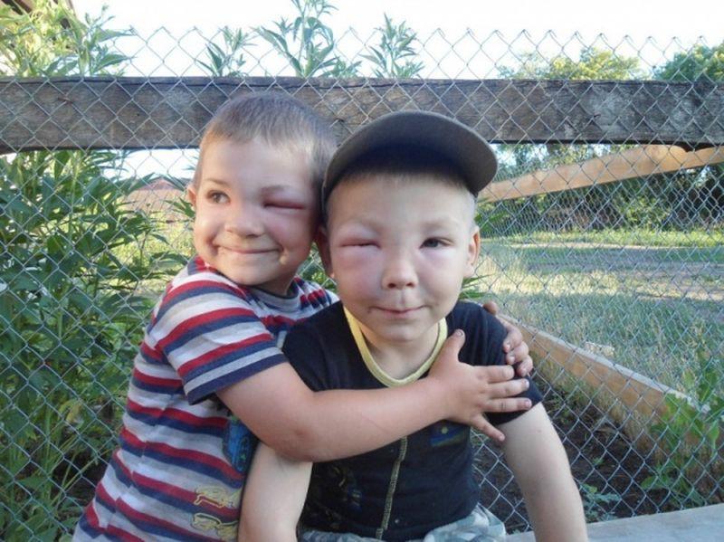 """""""А мы все равно нашего дедушку-пчеловода любим!"""" дети, счастье"""