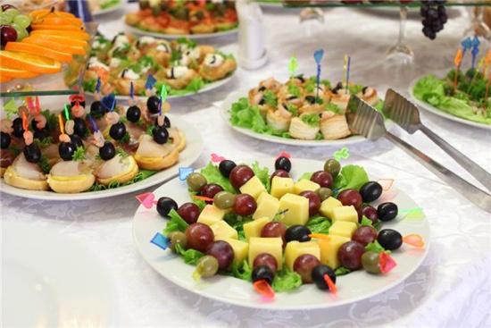 Фуршет на день рождения и рецептами