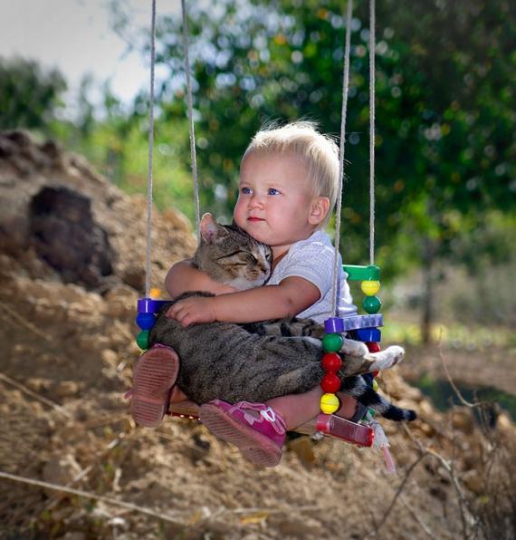 40 доказательств того, что домашние животные делают детей счастливыми