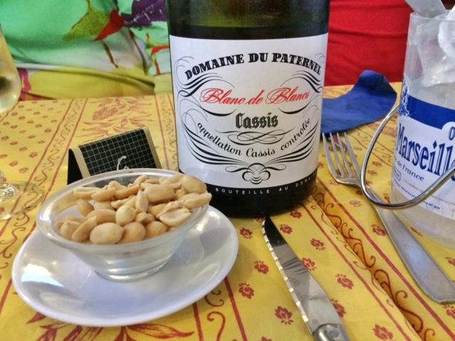 Соленые орешки под вино. Вот вам и Франция..