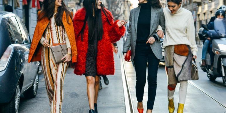 Уличная мода осень-зима 2018-2019