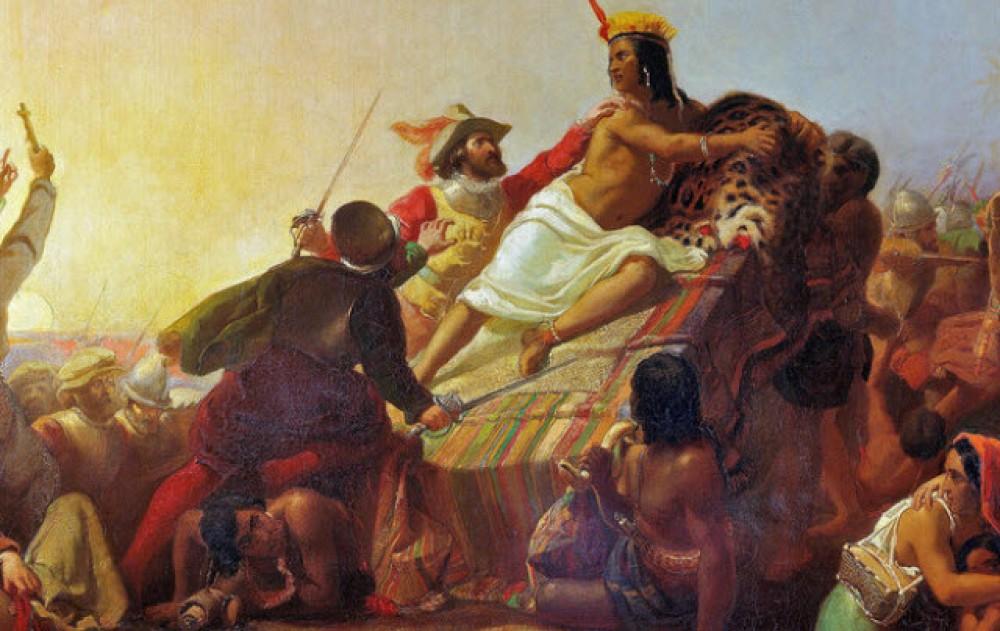 Как испанцы уничтожили Великую Империю инков