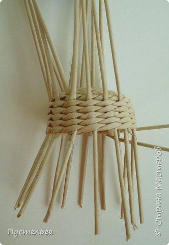 Кукольная жизнь Плетение Кресло Трубочки бумажные фото 6