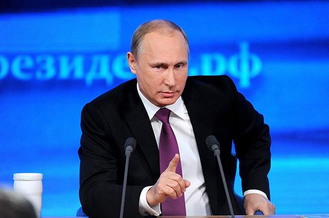 Большая итоговая пресс-конференция В.В.ПУТИНА.