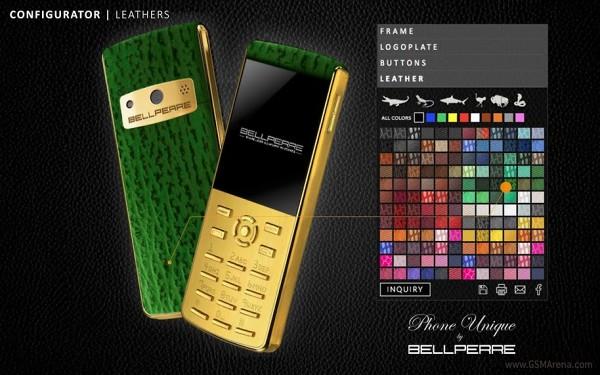 Bellperre создала люксовый телефон с настраиваемой внешностью