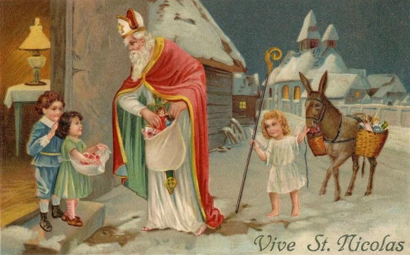 Три рождественских деда