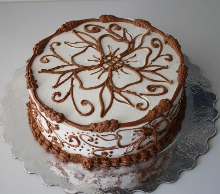 не сложное оформление тортов фото