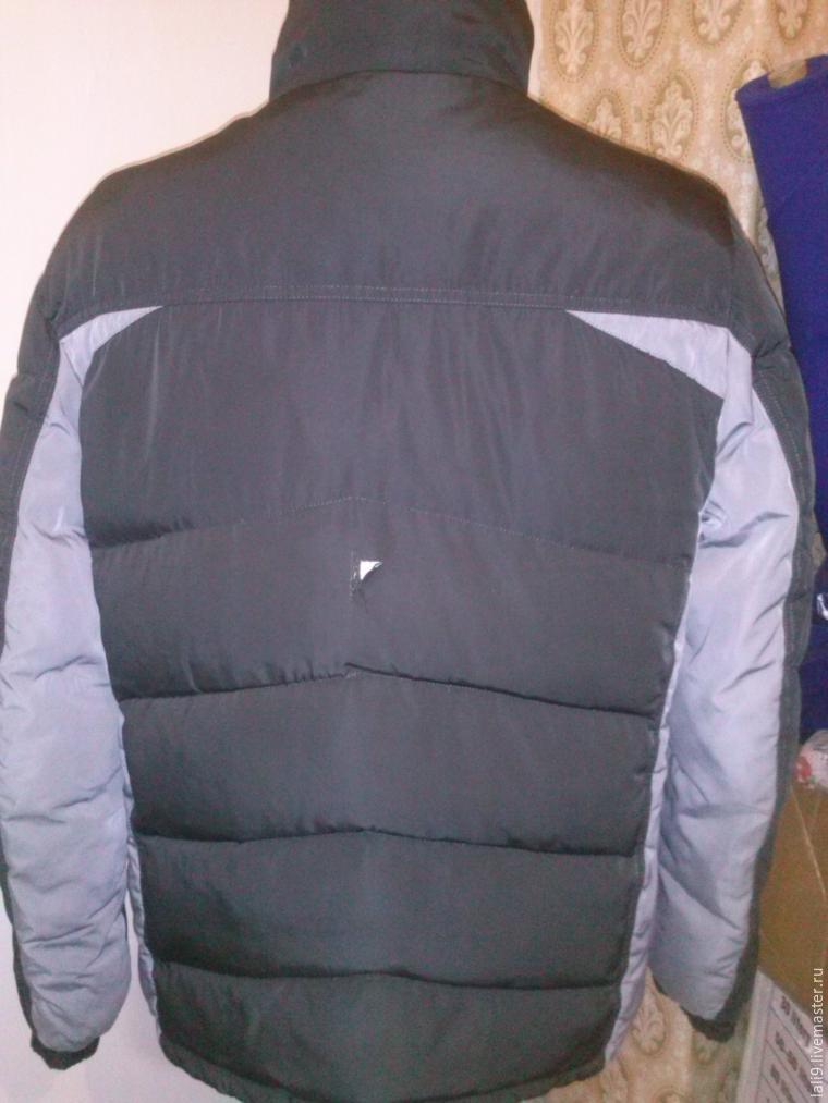 Будни ателье: ремонт мужской куртки
