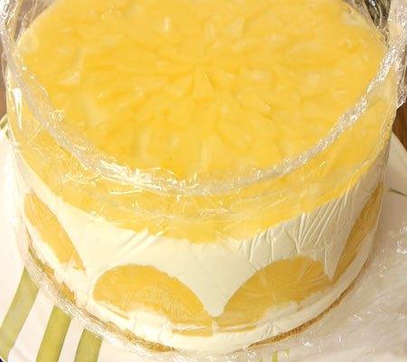 Торт с ананасами пошаговый рецепт с фото