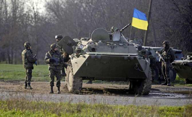 13украинских военных погибл…