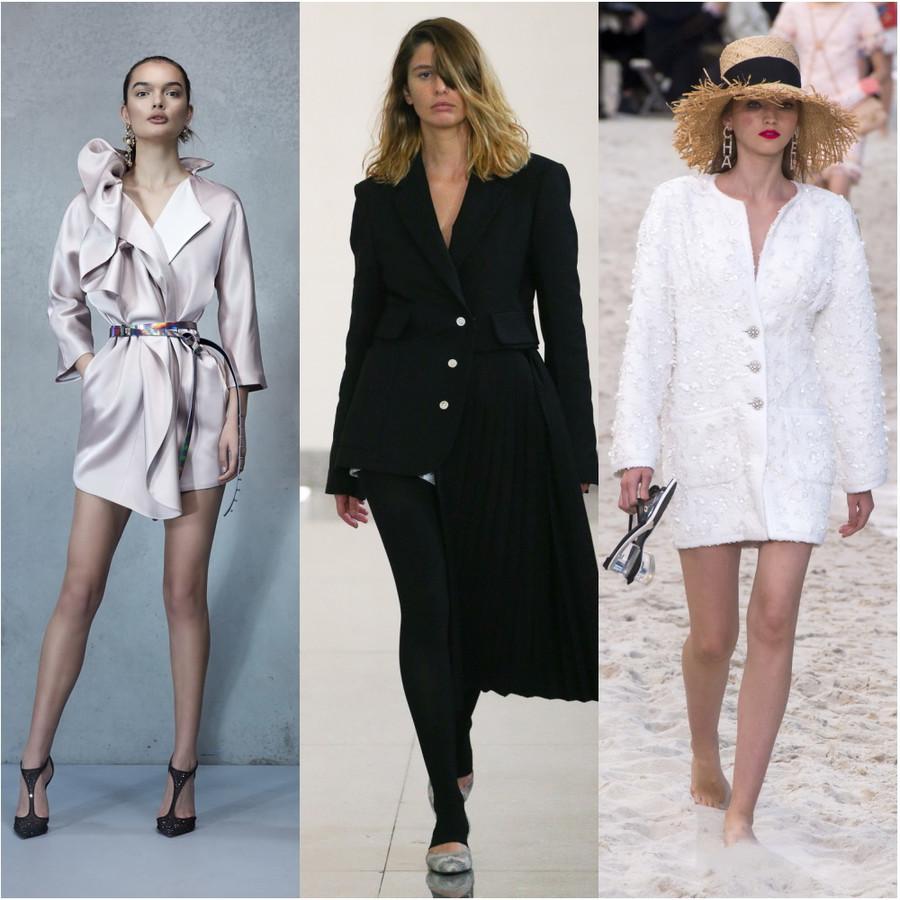 Как носить модное платье-пиджак, оно реально крутое