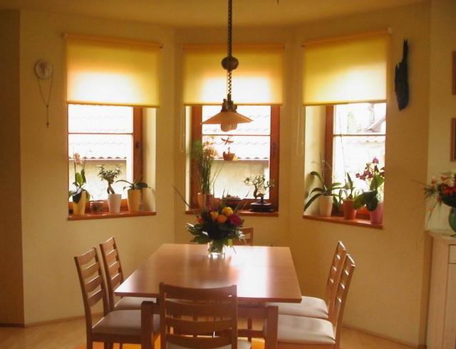 Дизайн кухни с эркером в домах серии п-44т фото